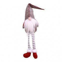 Weihnachtsdekoration lange Beine sitzen Elf 50cm