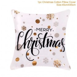 Christmas pillowcase cushion cover cotton 45 * 45 cm