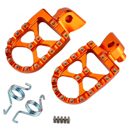 Bicycle foot pegs pedals
