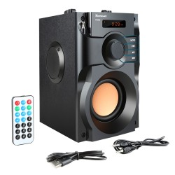 Haute-parleur avec display LCD RS-A100 wireless bluetooth speaker