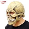 Skull full head halloween mask