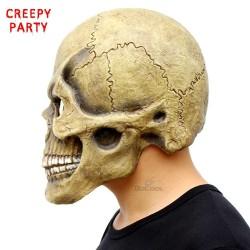 Maschera di Halloween teschio intera