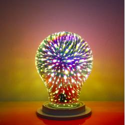 A60 G95 G125 4W E27 3D LED żarówka