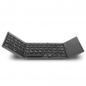 Portable foldable bluetooth wireless keyboard