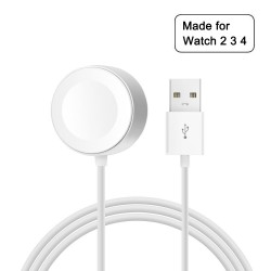 USB cable with magnetic wireless charger for Apple Watch