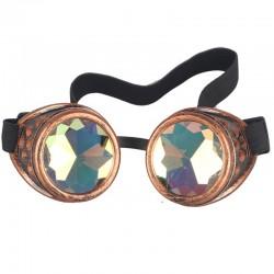 Vintage steampunk gothic gogle okulary unisex