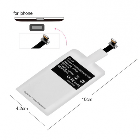 iPhone X 6 6S 7 8 Plus & Android universal Qi wireless charger