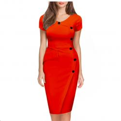 Rozmiar plus wąska ołówkowa sukienka