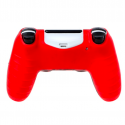 PS4 Pro Slim Controller skull silicone gamepad cover case & 2 joystick caps
