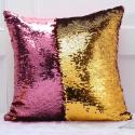 Reversible glitter sequins pillowcase cushion cover 40 * 40 cm