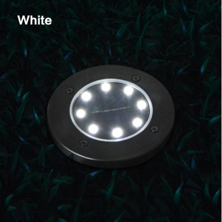 8 LED garden outdoor solar light with sensor waterproof