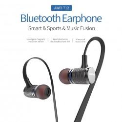 AWEI T12 bluetooth słuchawki bezprzewodowe