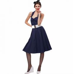 Rozmiar plus vintage retro sukienka