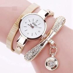 Vintage bransoletka kwarcowy zegarek