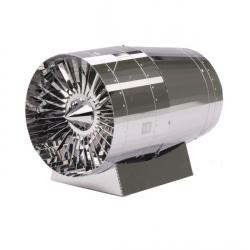 Turbina silnika 3D DIY metalowe puzzle zabawka