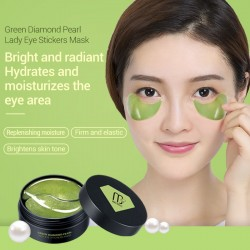 Collageen Diamond Pearl gel patches anti-rimpel gezicht & oogmasker