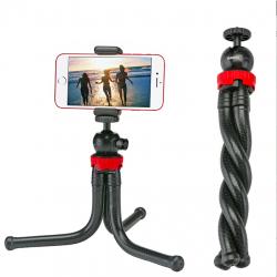 Przenośna elastyczna ośmiornica mini statyw uchwyt telefonu aparatu selfie stick