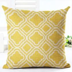 Geometrischer Kissenbezug aus Baumwolle 45 * 45 cm