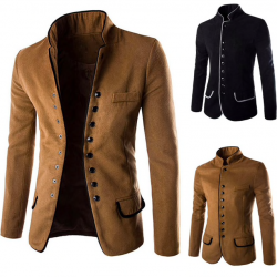 Elegant slim men's jacket - blazer