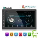 Android autoradio din 2 - 7'' touch screen GPS Bluetooth FM WIFI