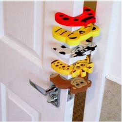Zabezpieczenie dziecka blokada drzwi 2 szt