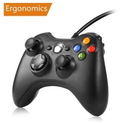 Xbox 360 kontroler do gier przewodowy joystick