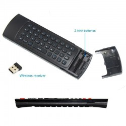 FW1S 2.4GHz Fly Air Mouse Wireless Keyboard Remote For Android Smart TV