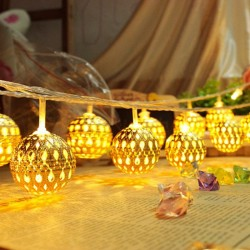 LED Light Strip 20 Lamp Balls