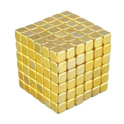 Neodymium 5mm square magnets buck ball 216 pcs
