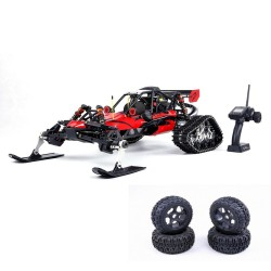 Rovan giocattolo con motore Baja305AS 1/5 2.4G RWD Snow Buggy RC car 30.5cc RTR