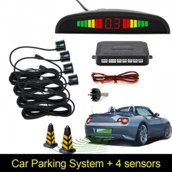 Samochodowy LED czujnik cofania parkowania & podświetlany wyświetlacz