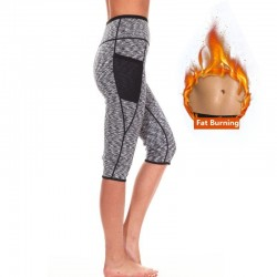 Leggings efecto sauna shaper de neopreno