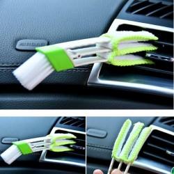 Cepillo doble para limpiar coche