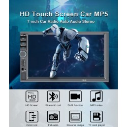 Bluetooth 7 '' inch LCD Touchscreen 2 DIN Autoradio MirrowLink