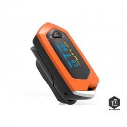 Monitor de frecuencia cardíaca en sangre oxímetro de pulso de dedo recargable