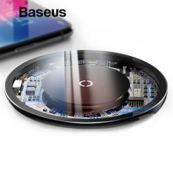 Baseus 10W Qi wireless charger ładowarka bezprzewodowa podstawka ładująca