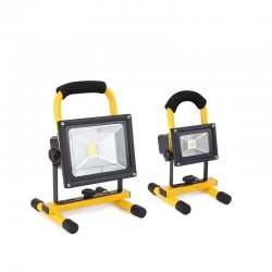 10W - 20W LED rechargeable built-in battery flood light portable waterproof