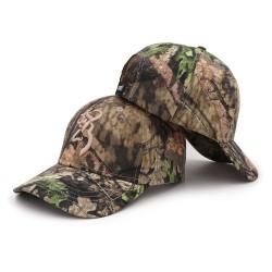 Kamuflażowa czapka z daszkiem baseballówka unisex