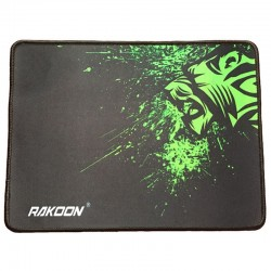 Locking edge gaming mouse pad