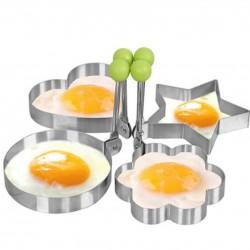 Foremka ze stali nierdzewnej do smażenia jajek & naleśników