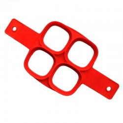 Silicone nonstick mould shaper for frying eggs & pancakes