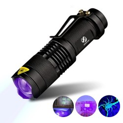 UV lamp light torch for marker checking detection