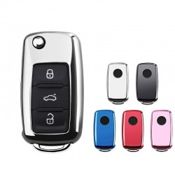 Car key cover case for Volkswagen VW Passat Golf Jetta Bora Polo Sagitar Tiguan