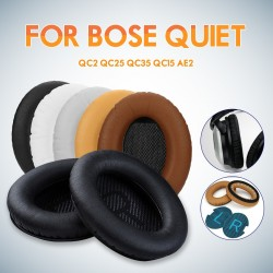 Soft foam sponge replacement headphone ear pad for BOSE QC2 QC25 QC35 QC15 AE2 2 pcs