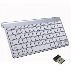 Bezprzewodowa klawiatura 2.4G z myszką / USB odbiornikiem