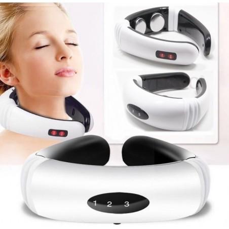 Elektrische puls - massage voor rug en nek - infraroodverwarming