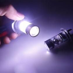 H7 100W COB LED Car Light Bulbs 12-24V 2 pcs