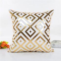 Złoty wzór - poszewka na poduszkę 45 * 45cm