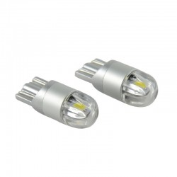 12V T10 LED W5W 3030 car light bulb 2 pcs