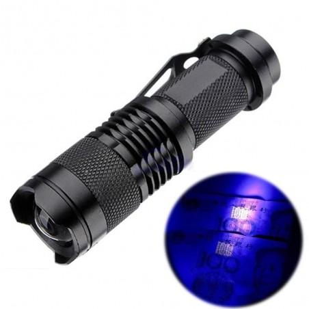 Zoombar UV-LED-Taschenlampe - Marker Checker - falsche Gelderkennung